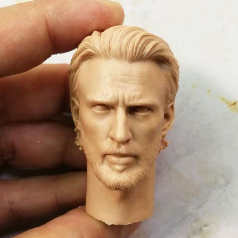 "Obi-Wan Head Sculpt Unpainted Fit 12/"" Figure Blank Hot 1//6 Scale Star Wars"