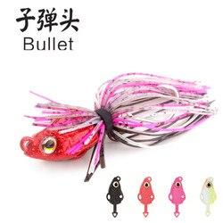 4pcs JUYANG Tai Kabura 10g Silicone Rubber Skirt Jigs head leurre madai sliding slider metal slow tenya jig Fishing Lure inchiku
