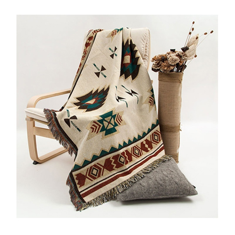 Home Decor Wall Hangings Nordic Navajo Geometric Rugs Native American Ethnic Tribal Bohemian Vintage Tapestry Throws Blanket