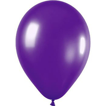 10 x 12 inch Purple Wedding Balloons