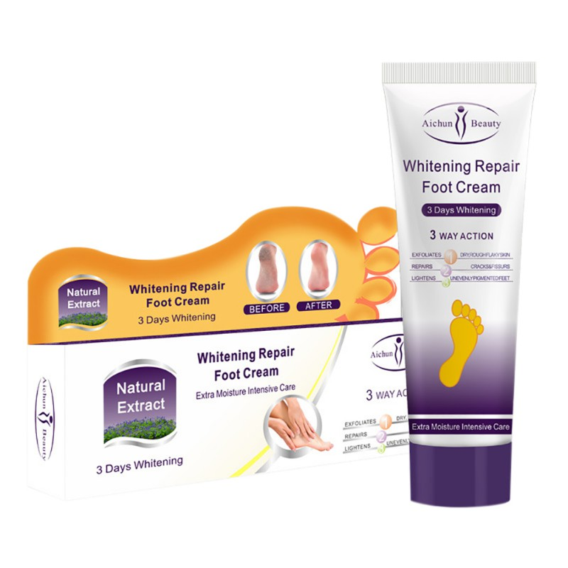 Foot Care Repair Cream Repair Splitting Skin Whitening Moisturizing Improve Soothing Cleft Foot Cream Massage Smooth Cream