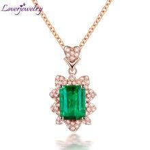Loverjewelry женское ожерелье кулон чистый au750 18kt желтое