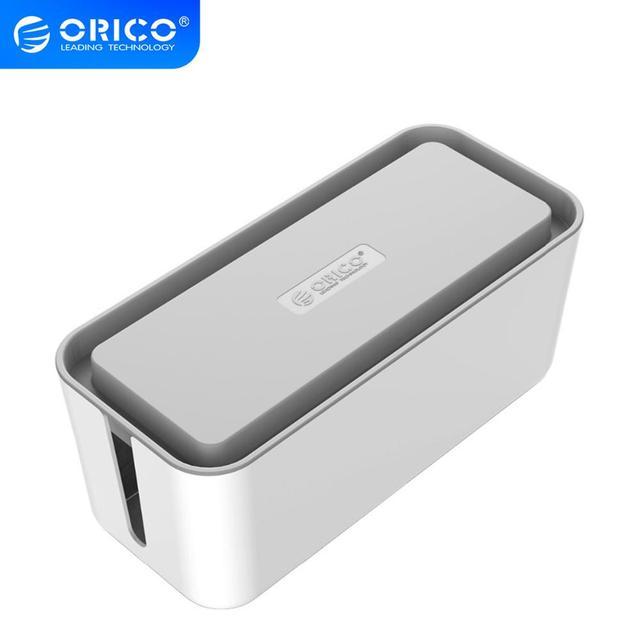 ORICO CMB กล่องป้องกันสาย Winder Manager Power Strip สำหรับอะแดปเตอร์/สายชาร์จ/เครือข่าย USB HUB กล่องการจัดการสาย