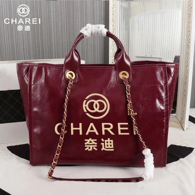 Фото французская сумка charei новинка 2020 большая женская на цепочке цена