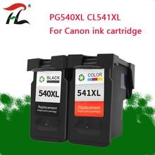 YLC PG540 PG 540 CL 541 dla Canon PG540XL CL541 pojemnik z tuszem pg 540 dla Pixma MG4250 MG3250 MG3255 MG3550 MG4100 MG4150 drukarki