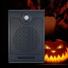 купить PIR infrared motion sensor supports SD card audio player for Halloween haunted house horror sound wall mounted scream voice дешево