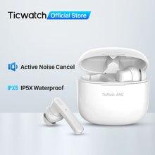 Mobvoi Ohrhörer ANC Wahre Drahtlose Ohrhörer Aktive Geräuschunterdrückung Bluetooth IPX5 Wasserdicht Bis zu 21 Stunden Batterie Lebensdauer