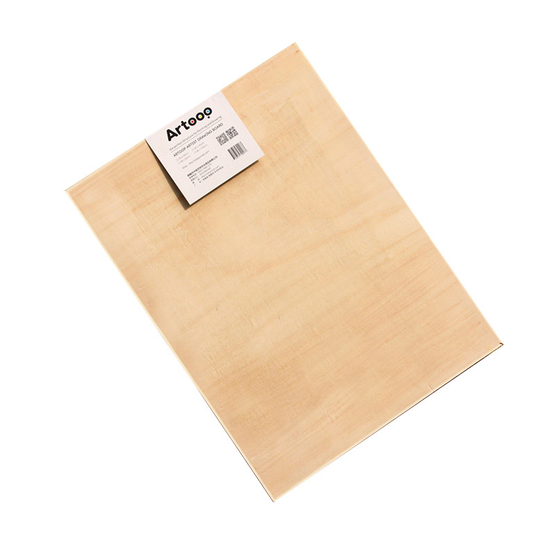 Artoop 4k Basswood Sketch Drawing Board Double-Sided Drawing Board Wood Fine Art Sketchpad Sketch Drawing Board