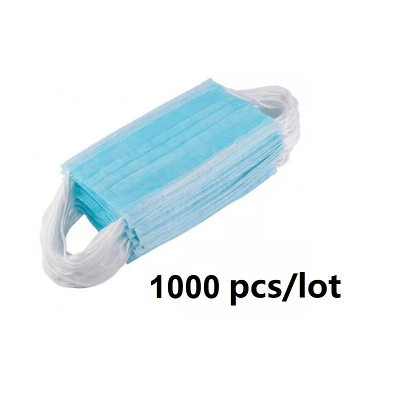 DHL Quick Shipment Earloop 3 Ply Face Mask Disposable Face Mask 4000pcs Per Lot Buy Nose Mouth Mask For Coronavirus COVID19