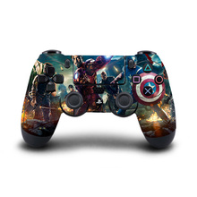 Marvel's The Avengers PS4 Controller Skin Sticker Vinyl Decal Sticker for Sony PlayStation 4 DualShock 4 Wireless Controller