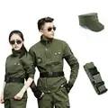 Uniforme Militaire Männer Herbst Winter Military Uniform Frauen Armee Taktische Grün Kleidung Militar Sets Combat Shirt + Hosen Jagd