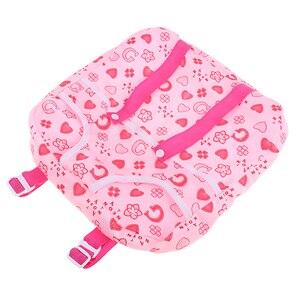 Регулируемый милый розовый рюкзак-переноска для кукол 25 см, аксессуары для девочек