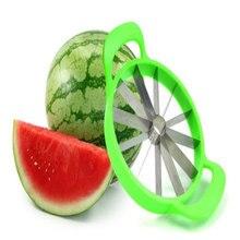 Cortador de melancia, conveniente, utensílio de cozinha, para o verão, fatiador de melancia, faca de cantaloupe, cortador de fruta
