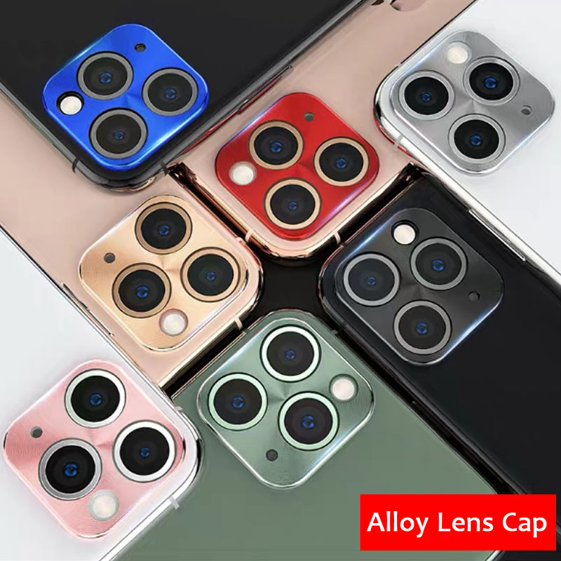 Camera Lens Protective Film For IPhone 11 Pro Max Metal Camera Len Protector Cover On The For IPhone 11 Pro Max Camera Cover
