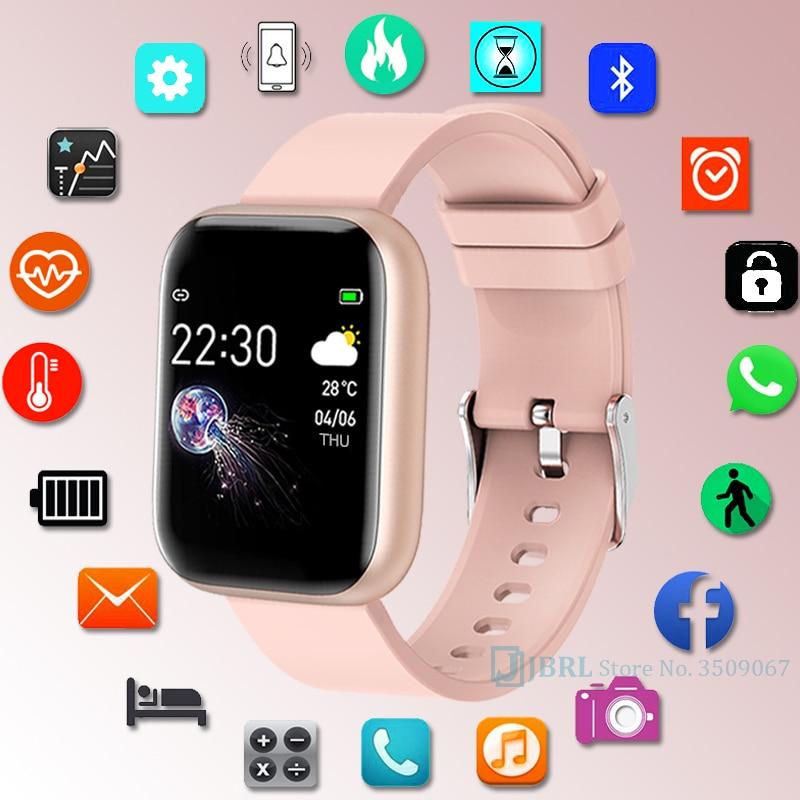 Neue Sport Uhr Kinder Kinder Uhren Für Mädchen Jungen Armbanduhr Studenten Bluetooth Elektronische Silikon Armband Digitale Armbanduhr