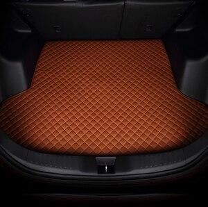 Todos os tapetes de tronco de carro personalizado para alfa romeo stelvio (201-2018)-estilo do carro todo o tempo tapete piso