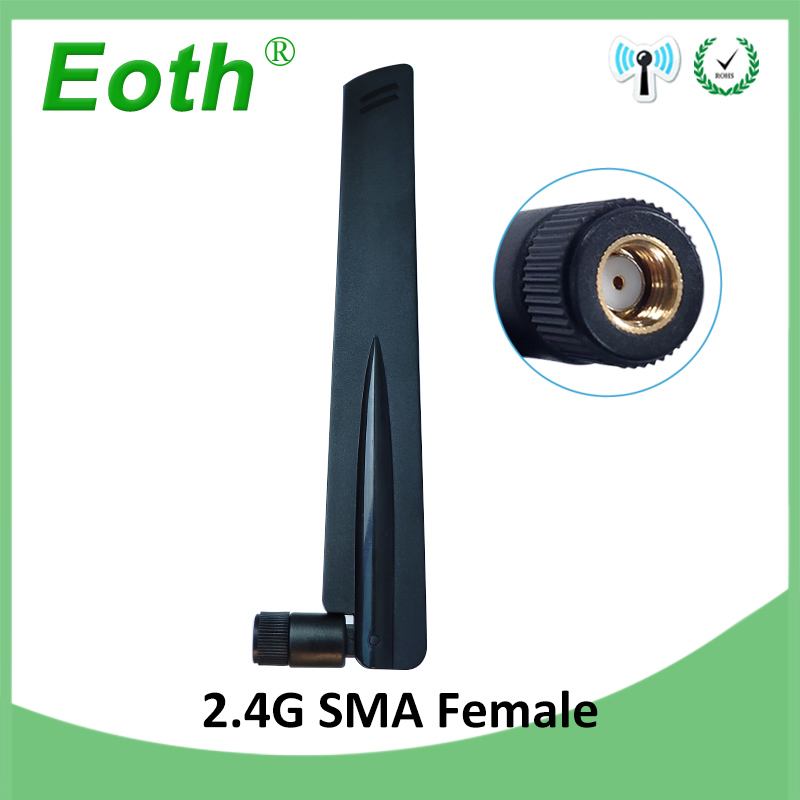 2.4 GHz Wifi Antenna Real 8dBi Aerial RP-SMA Connector Antena 2.4ghz Antenne Wi Fi 2.4g Antenas Wi-fi Antennas Wireless Router