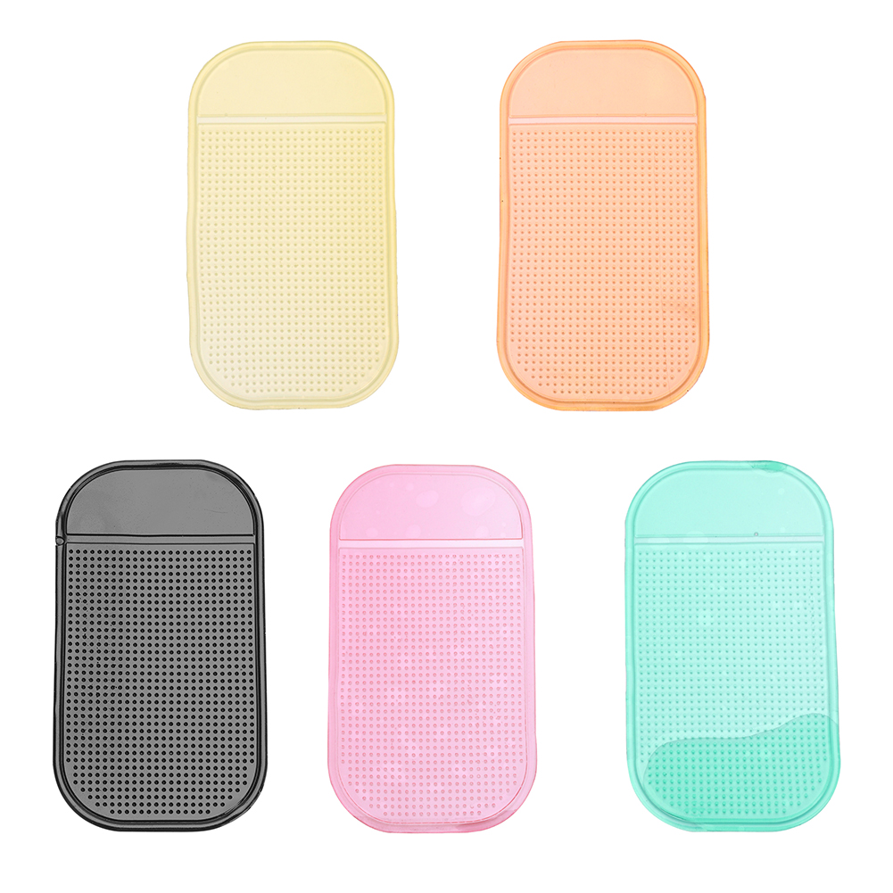 3X Super Sticky Gripping Pad Clear Recycled Reusable Phone Holder Anti-mat Slip