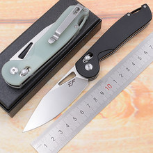 Eafengrow Made JadeBird Real D2 steel ball bearing Folding G10 Camping Hunting Kitchen Survival Outdoor EDC Tool Utility Knife