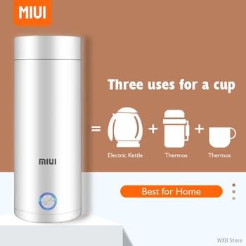400ml Portable Electric KettlesThermal Cup Make tea Coffee Travel Boil water Keep warm Smart Water Kettle Kitchen Appliances 1