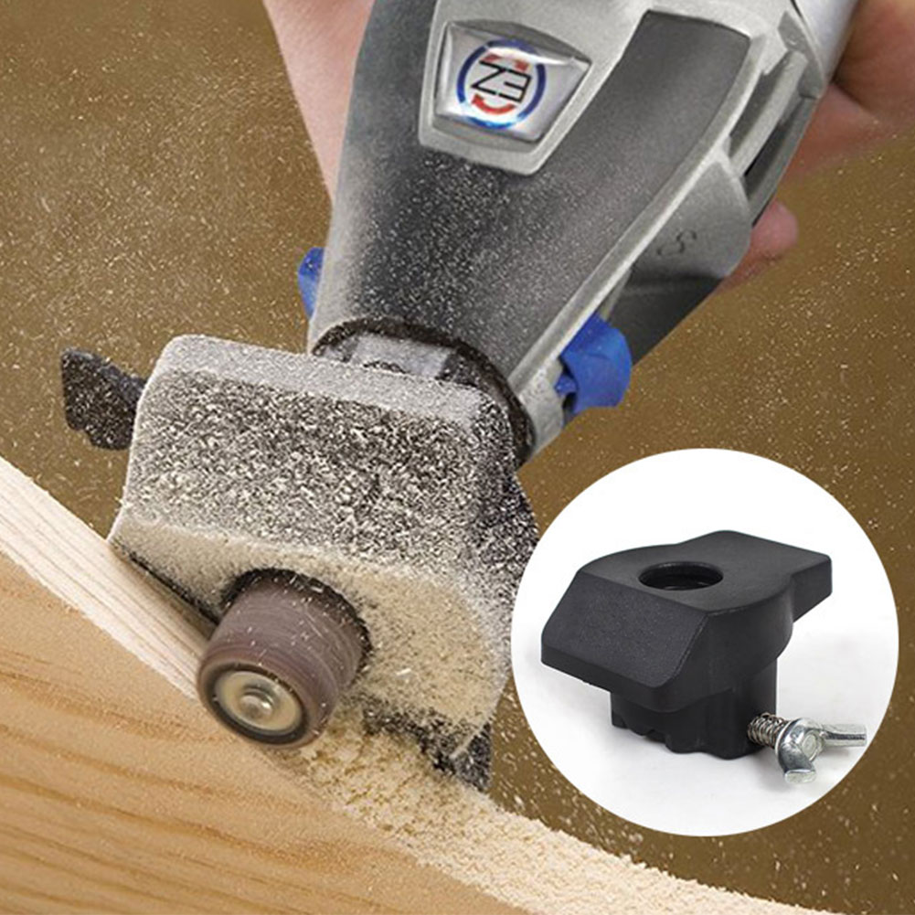 Grinding Locator Durable Woodworking Sanding Guide Attachment Electric Router Paper Ring Accessories Drill Rotary Tool DIY Mini