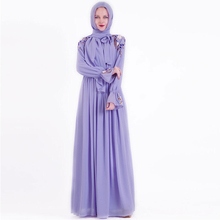 Eid Vestidos Hồi Giáo Thời Trang Hijab Đầm Abaya Dubai Thổ Nhĩ Kỳ Hồi Giáo Quần Áo Caftan Dài Maroc Áo Dây De Roupa Americana