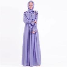 Eid Vestidos muslim fashion Hijab Dress Abaya dubai Turkey islamic clothing Caftan Kaftan Moroccan Robe de roupa americana