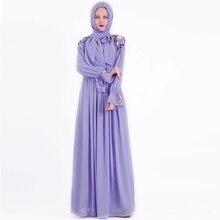 Женское платье Кафтан Eid, мусульманское модное платье в стиле хиджаба, абайя, Дубай, Турция, Исламская одежда, марокканский Халат