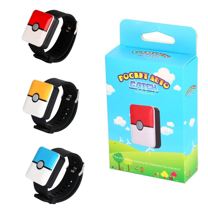 Auto Catch Pokemon Go Plus Bluetooth toys Bracelet  Rechargeable Square Bracelet Go Plus Auto Catch Pokemon toys Christmas Gift