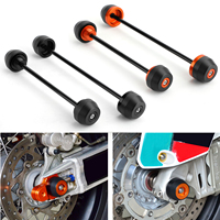 Areyourshop For KTM DUKE 790 2018 2019 Axle Fork Crash Wheel Sliders Falling Protector Front & Rear Motorcycle Parts