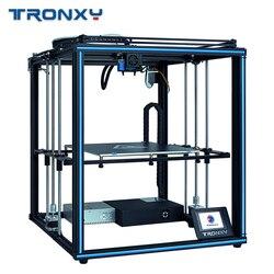 2019 Tronxy обновленная версия X5SA/X5SA-400 24 в 3d принтер полностью металлический CoreXY DIY наборы 24 В Горячая кровать большая сборка пластины датчик нак...