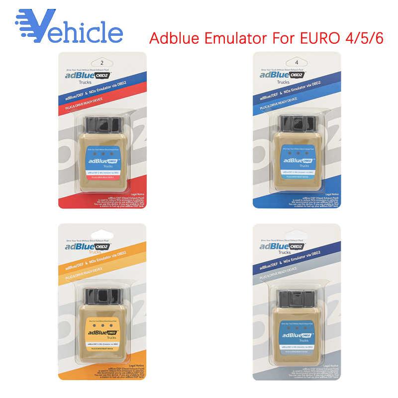 Adblue OBD2 Máy Quét Cho DAF/ IVECO /RENAUL/Cho Định Vị Ô Xe Tải AdBlue OBD2 Cho EURO 4/5 NOX/DEF Qua OBD OBD2 Chẩn Đoán Giao Diện