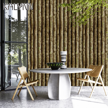 Vinyl 3D Log Cabin Self Adhesive Wallpaper 6m*45cm Peel and Stick Contact Paper for Furniture Kitchen Home Countertop Decor DIY lucian bottow watkins the old log cabin