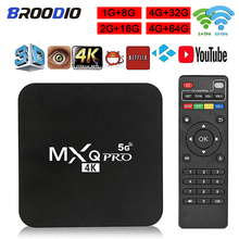 64GB Android 10.1 Smart TV Box MXQpro RK3229 4K Youtube lecteur multimédia TV BOX Android 7.1 4GB 32GB TV décodeur
