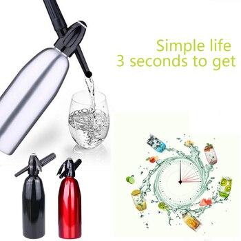 1000 ML DIY Soda Water Siphon Home Drink Juice Machine Bar Beer Soda Syphon Maker Bottle Sodastream Machine Co2 Injector Barware