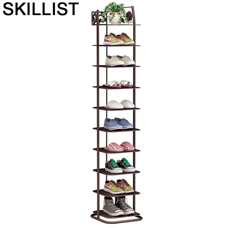 Zapatero Armario Almacenamiento Mobili Meble font b Closet b font Organizador De Zapato Mueble Rack Cabinet