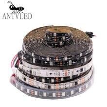 5m ws2811 светодиодный светильник полосы 5050 smd rgb адресуемый
