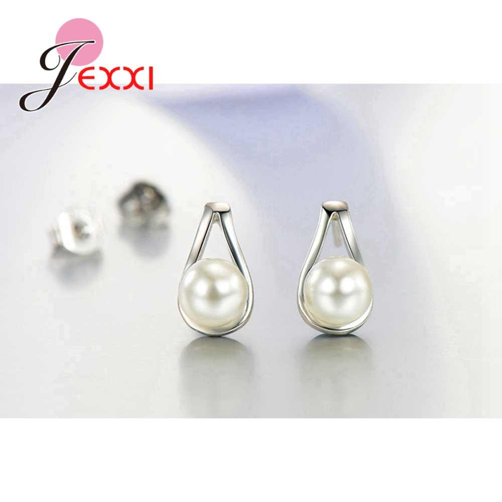 Pearl Jewelry Sets 925 Sterling Silver Wedding Appointment Jewelry High Quality Lover Girlfriend Birthday Gift Popular Sale