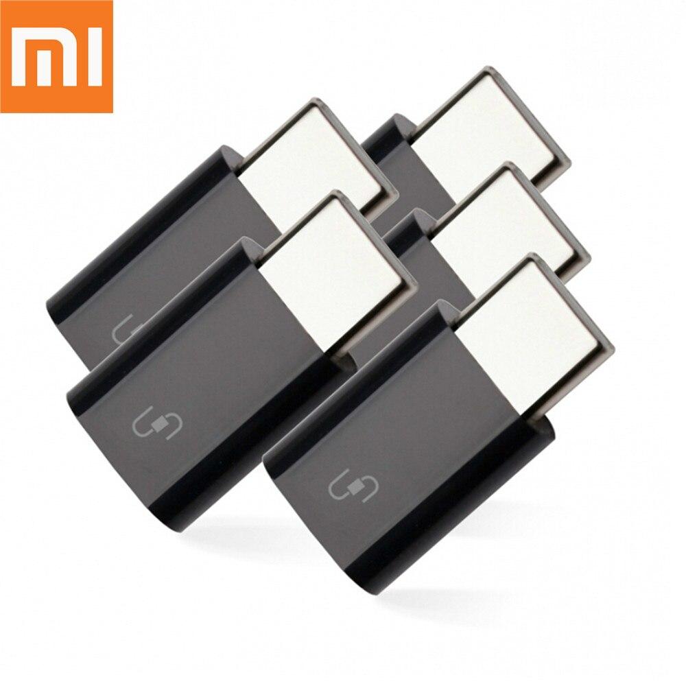 Оригинальный адаптер зарядного устройства Xiaomi Mijia для умного дома, портативный адаптер Micro USB 3,1 Type-c для Xiaomi Samsung HUAWEI