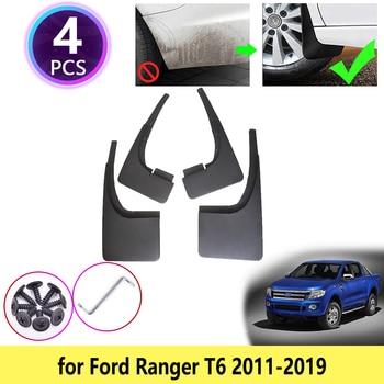 for Ford Ranger T6 2011 2012 2013 2014 2015 2016 2017 2018 2019 Mudguards Mudflap Fender Mud Flaps Guards Splash Car Accessories