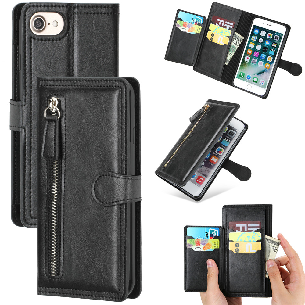 360 Full Protect Filp Case For Iphone SE 2020 Case Shockproof Leather Cover Magnetic Coque For Iphone SE 2020 Funda Wallet Case