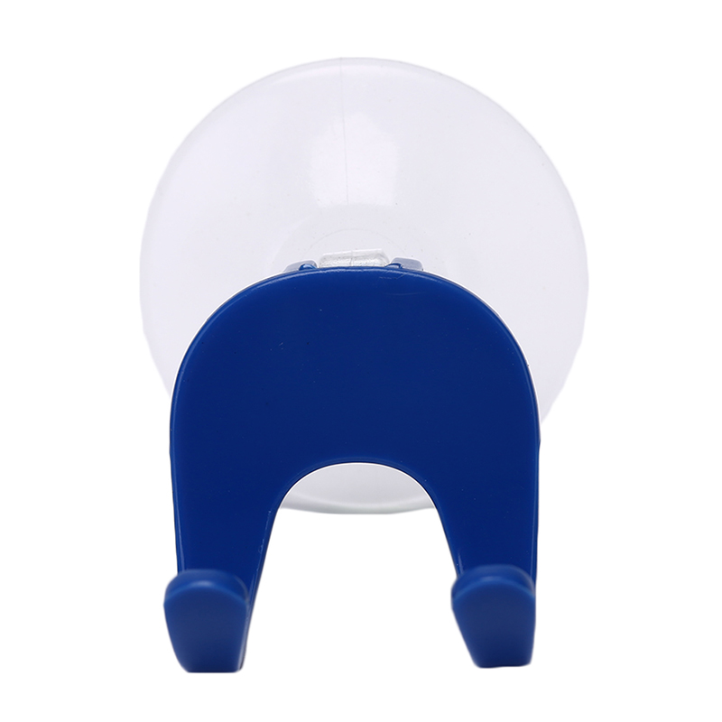 1PCS Wall-mounted Shaver Shelf Razor Holder Plastic Clear Blue Super Suction Cup Shaving Razor Rack Bathroom Cupula Set