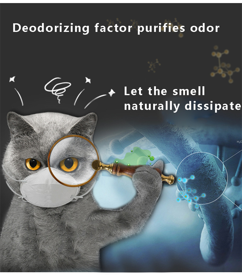 Pets Litter Sand Cat Litter Deodorant Beads Activated Carbon Absorbs To Cat Stink Bead Pet Cat Litter Cleaning Supplies