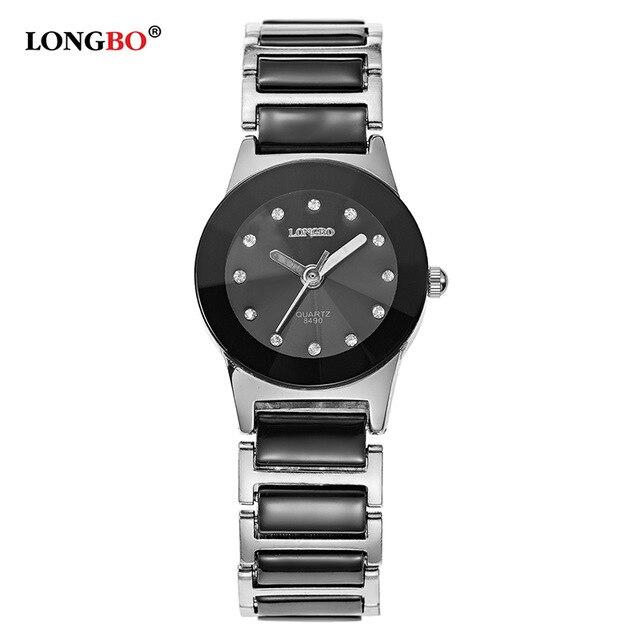 LONGBO Brand Men Women Brief Casual Unique Quartz Wrist Watches Luxury Brand Quartz Watch Relogio Feminino Montre Femme 8490