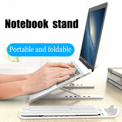 BELKA Laptop Stand Non-slip Foldable Adjustable Desktop Laptop Holder Notebook Stand sFor Notebook Macbook Pro Air iPad Pro