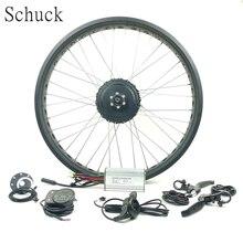 Schuck 48V 750W HINTEN RAD motor SCHNEE EBIKE kit elecrtic fahrrad LED 900S Display hub motor mit fett reifen elektrische fahrrad kit