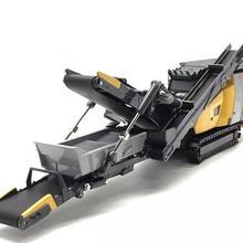 Коллекционная литая игрушка модель 1:50 Keestrack R3 модель дробилка дробильная установка инженерное оборудование для украшения, бизнес подарок