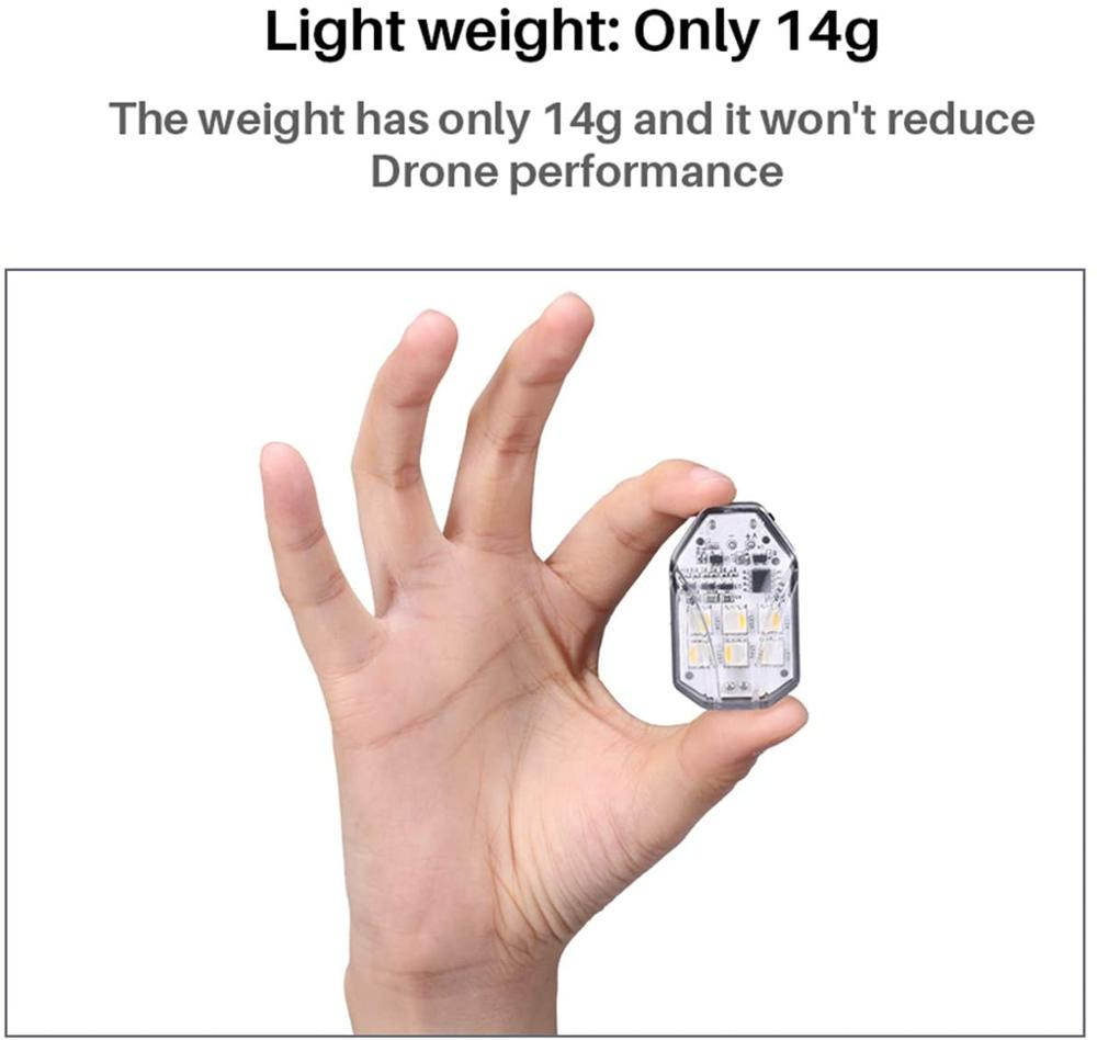 Ulanzi DR-01RGB Dji MAVIC Mini Accessories Drone Strobe Light Night Flight Searching Lighting Night Navigation Red White Green