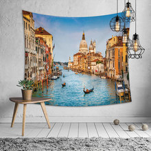 Large Tapestry Beauty Sea Beach Landscapes Wall Hanging Tapestries Home Decor Rectangle Bedroom Wall Art Tapestry island beach scenic wall art decor tapestry