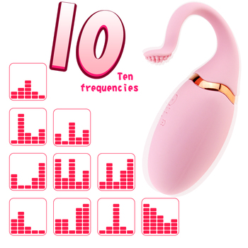 10 Speeds G Spot Kegal Ball Vibrator Remote Control Silicone Mute Egg Vibrator Vagina Tight Exercise Sex Toy for Women Sex Shop 2